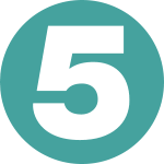 Channel 5 logo 1997